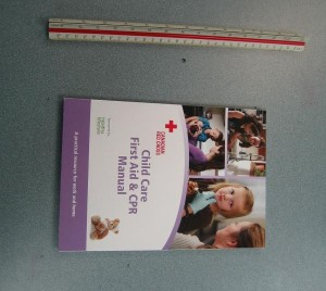 workplace approved Childcare First Aid Book